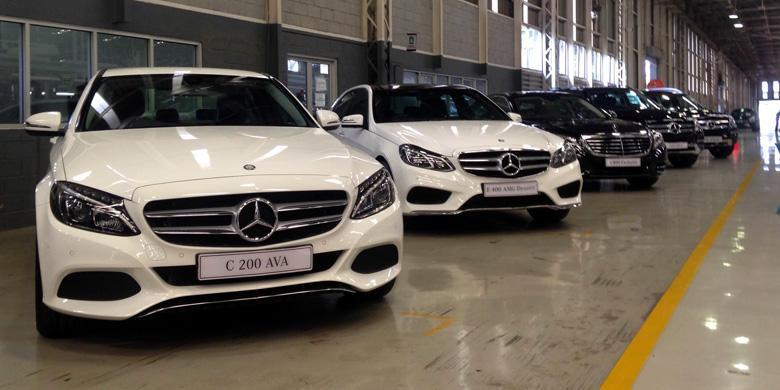 Inilah Deretan Mercedes Benz Indonesia