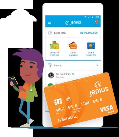 Online Shopping Lebih Mudah Menggunakan Aplikasi Jenius
