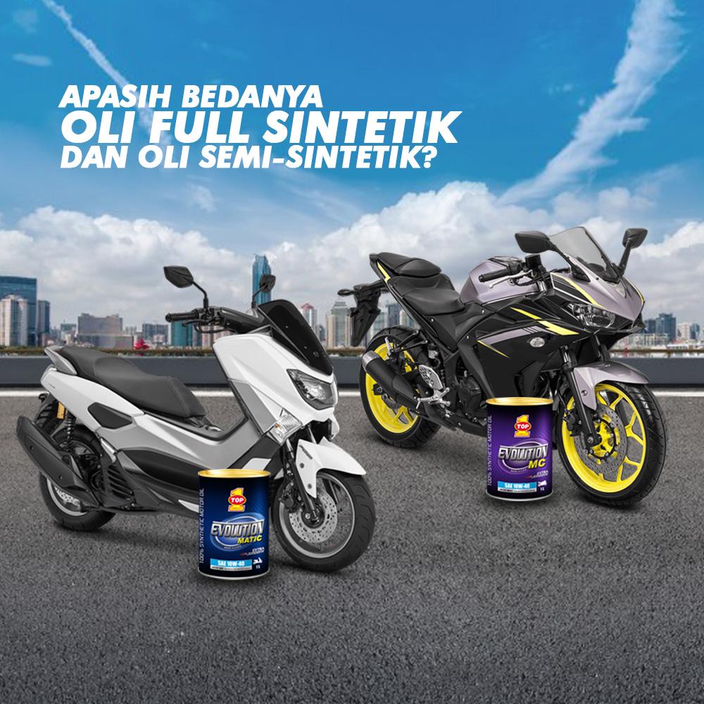 Top 1 Produk Oli Motor Matic Terbaik di Indonesia