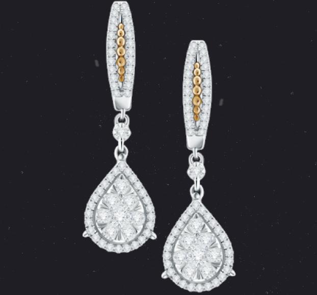 Memadukan Pakaya Dengan Anting Berlian